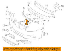 NISSAN OEM 16-18 Altima Front Bumper-Lower Retainer 622969HS0A