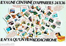 PUBLICITE ADVERTISING 016  1982  KODACHROME  film diapositive  KODAK (2p) 24X36