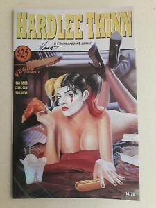 Hardlee Thinn  14/20 FOIL Pulp Fiction Homage Vegas Comics SDCC SIGNED