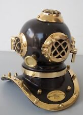 NAUTICAL VINTAGE REPRODUCTION COLLECTIBLES MORSE U.S NAVY MINI DIVING HELMET