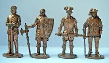 Metalfiguren Soldatini Kinder Serie Soldati rame