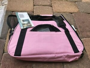"""NWT! Paws & Pals Soft Pet Carrier Pink L17""""XW8""""XH11.5"""" Size Small - Up to 10lbs."""