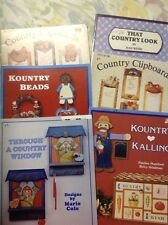 Country Painting Books lot of 6