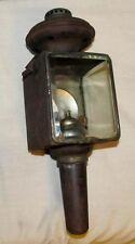 Vintage/Antique Unmarked Horse Buggy/Carriage Lamp/Lantern Light J538
