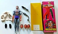 Vintage Maskatron from Six Million Dollar Man Figure Denys Fisher Orig Box 1976