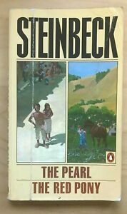 The Pearl and the Red Pony by John Steinbeck (1976, Paperback)