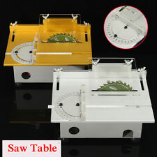 Portable Bench Precision Table Saw Blade Woodworking Cutting Polish Machine DIY