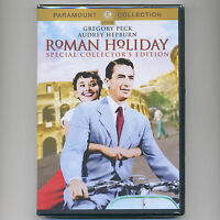 Roman Holiday 1953 romantic comedy movie, new DVD Audrey Hepburn, Gregory Peck