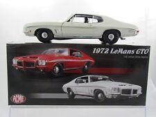 Acme 1972 Pontiac LeMans GTO in White A1801211