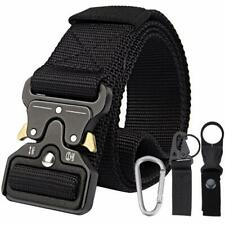 Belt with 3 Accessories, 1.5 Inches Durable Quick-Release Metal Buckle
