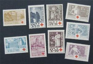 nystamps Finland Stamp # B9-B17 Mint OG H/NH    S17x350