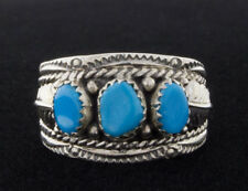 Size 11 3/4 Traditional Style Turquoise Ring