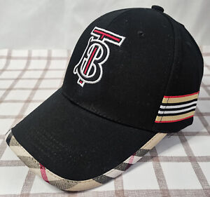 Burberry Unisex Baseball Hat Outdoor Sport Cap Black