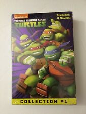 Nickelodeon Teenage Mutant Ninja Turtles 4 Novels Collection #1 New