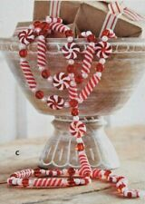 6' Peppermint Candy Garland Christmas Decor Raz Imports G3960868 New MinT!