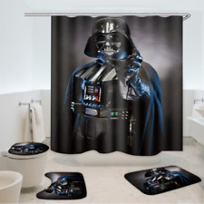 Newest Star Wars Darth Vader Bathroom Rug Shower Curtain Toilet Lid Cover Mats