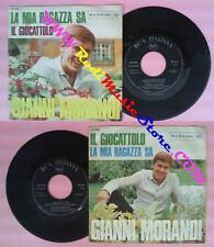 LP 45 7'' GIANNI MORANDI La mia ragazza sa Il giocattolo italy RCA no cd mc vhs