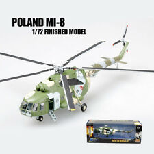 Poland Mi-8 1/72 Finished helicopter Easy Model non diecast twin-turbine