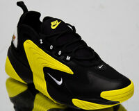 Nike Zoom 2K Mens Black Yellow Casual Lifestyle Sneakers Shoes Low AO0269-006