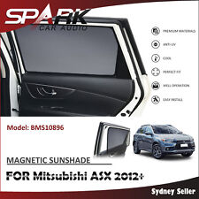 AD MAGNETIC CAR WINDOW SUN SHADE BLIND MESH REAR DOOR FOR Mitsubishi ASX 2012+