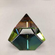 Swarovski Crystal Paperweight Octron 7456 Nr 041 000 Nib Multicolor Vm W/ Coa