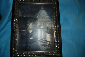 """Rod Chase """"Liberty Light"""" on Canvas 9x12 Framed"""