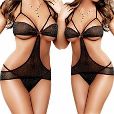 Women-G-string-Sexy-Lingerie-Underwear-Sleepwear-Robe-Lace-Babydoll-Nightwear US