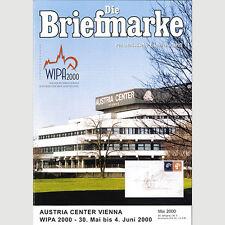 Nr.5/2000 DIE BRIEFMARKE / WIPA 2000 - Austria Center Vienna
