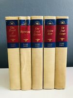 The Writings of Zane Grey, Walter J Black Editions 5 Book Collection