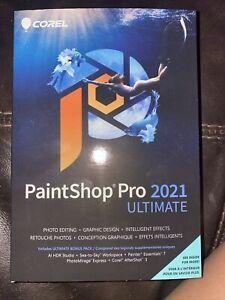 Corel PaintShop Pro 2021 Ultimate For Windows