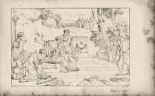 1835 inciso opere d'arte Edipo a colonos ~ Angus/SIG