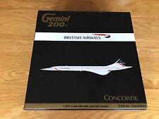 BRITISH AIRLINES Concorde LANDOR OAC Diecast Metal Gemini Model 1:200 G2BAW699
