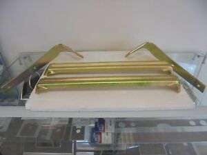 HOLDEN FC FRONT BAR IRONS***COMPLETE SET***GOLD ZINC PLATED***