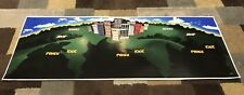 Rampage World Tour Arcade Control Panel Overlay CPO No Holes Decal Midway