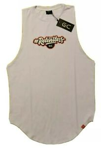 Sleeveless Athletic Shirt Relentless by Gerardo Gabriel Collection GC Large NWT