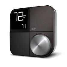 Lux Kono Smart Wi-Fi Thermostat Interchangeable Black Faceplate FREE SHIPPING A6