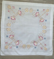 German Cotton Handmade Embroidered Tablecloth