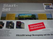 Faller 161519 Car System Start-Set Bahnübergang + LKW, sehr selten