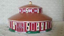Figi's Gifts COLLECTIBLE 2009 LIGHTED Figurine WORLD'S LARGEST ROUND BARN NEW!