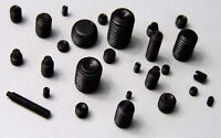 20pcs M5*4mm-M5*30mm Head Hex Socket Set Grub Screws Metric Threaded Cup Point