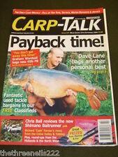 CARP TALK #527 - SHIMANO BAITRUNNER - SEPT 25 2004