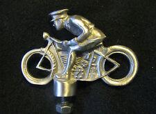 CUSTOM BOBBER MOTORCYCLE HOT ROD RAT ROD HOOD ORNAMENT