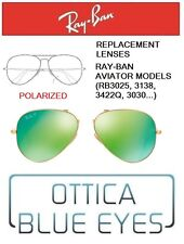 Lenti di Ricambio RAYBAN AVIATOR MODELS Replacement Lenses Ray Ban RB3025 P9 POL