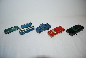 Collection of vintage Corgi Toy cars Green Hornet/MGA/Commer Bus/Impala/L/Rover