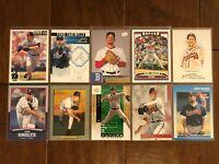 John Smoltz - Atlanta Braves - 10 Baseball Card Lot - No Duplicates
