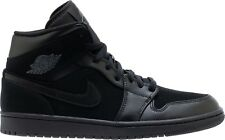 9463c357e2919f Air Jordan 1 Mid Black Dark Grey-Black (554724 050)