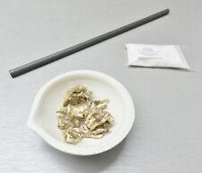 Melting Kit Crucible Dish Borax Graphite Stirring Rod a Set to Melt Gold Silver
