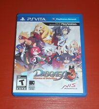 Disgaea 3: Absence of Detention (Sony PlayStation Vita, 2012) -No Manual