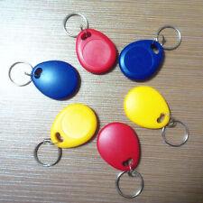 10X 125Khz RFID EM4305 Writable Keyfobs Proximity Smart Key Card for RFID Copier