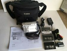 Sony CCD-TRV138 Hi-8 Handycam, Charger, Bag, Tapes, A/V Cable, More